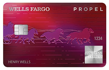 Graphic of Wells Fargo Propel American Express® Card