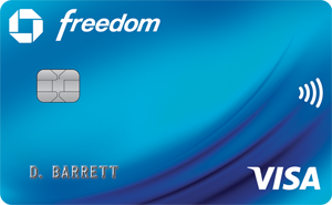 Graphic of Chase Freedom®