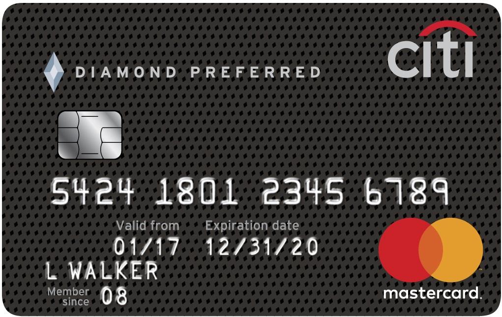 Graphic of Citi® Diamond Preferred® Card