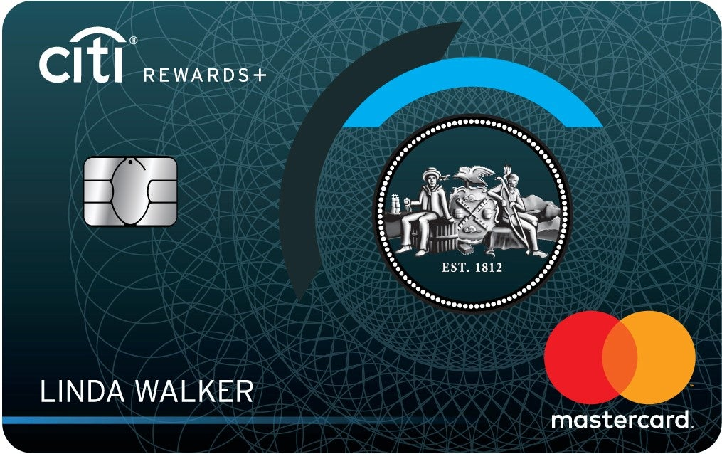 Graphic of Citi Rewards+℠ Card