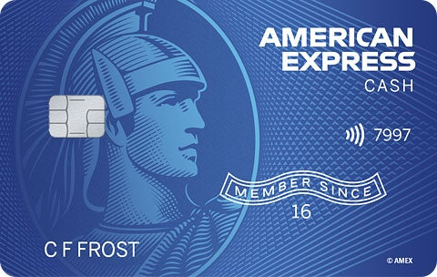 Graphic of American Express Cash Magnet® Card