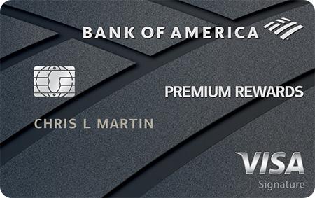 Graphic of Bank of America® Premium Rewards® credit card