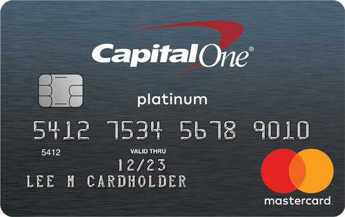 Graphic of Capital One® Platinum Credit Card