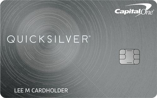 Graphic of Capital One® Quicksilver® Cash Rewards Credit Card