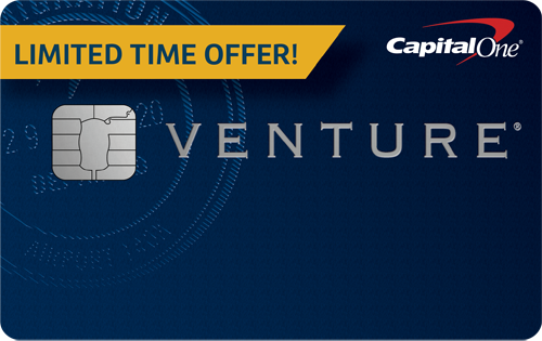 Graphic of Capital One® Venture® Rewards Credit Card