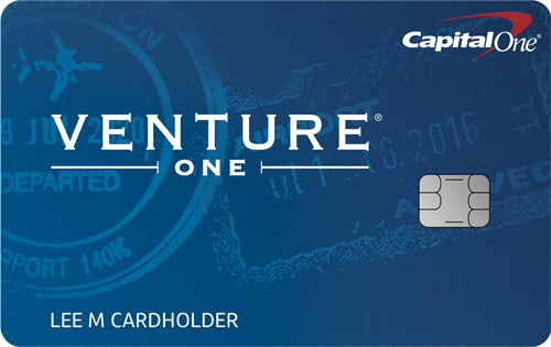 Graphic of Capital One® VentureOne® Rewards Credit Card