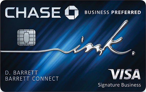 Graphic of Ink Business Preferred Credit Card