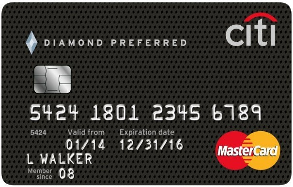 Graphic of Citi® Diamond Preferred® Card
