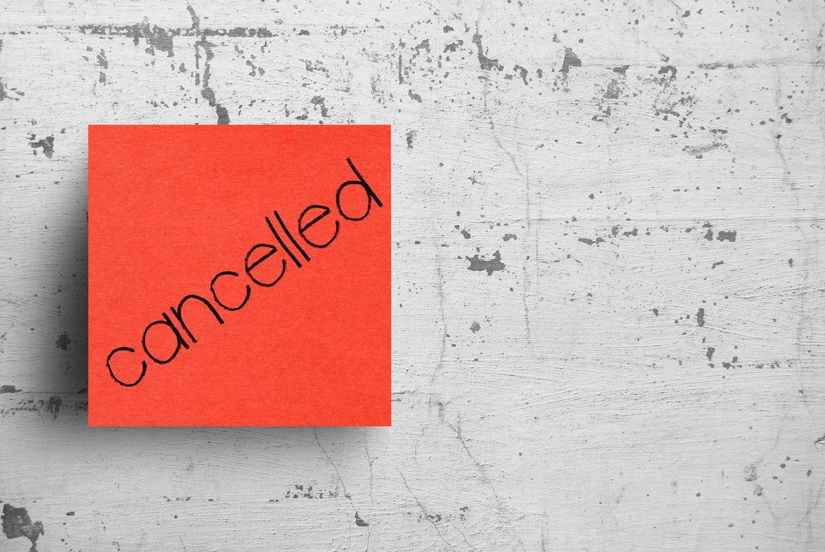 Cancellation Note