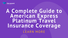 Amex Platinum Journey Insurance policy [2021 Benefits Guide]