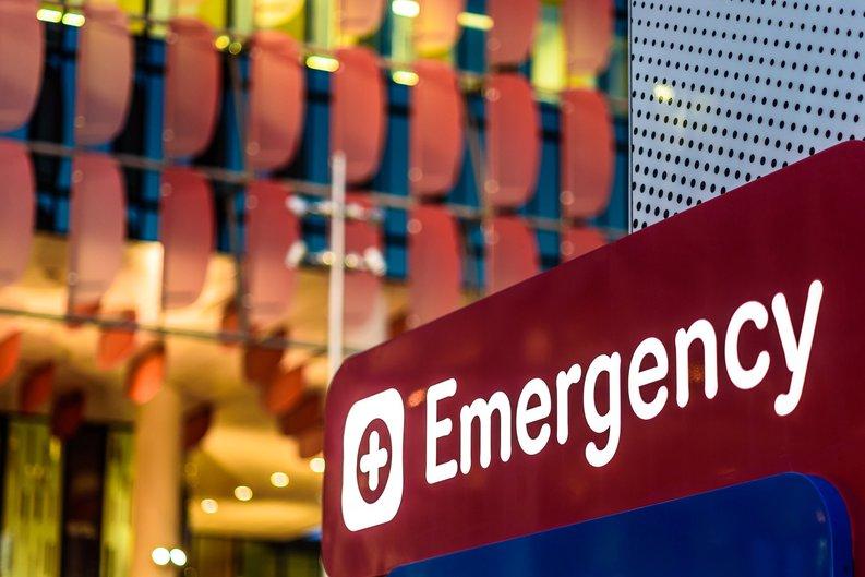 Emergency Room Sign