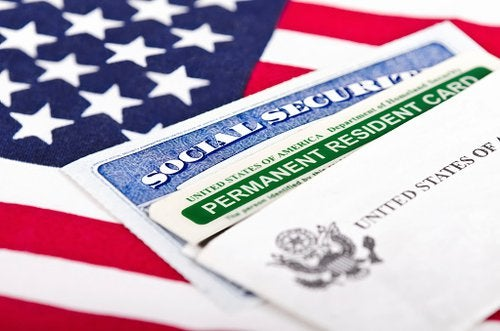 Flag With Visa