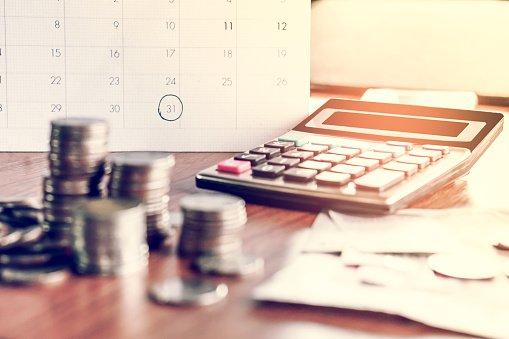 Change on a desk