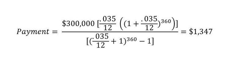 NJ mortgage calculator example