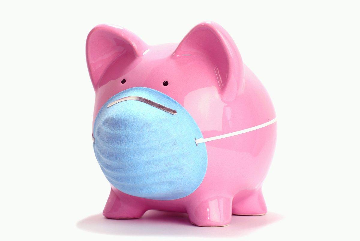 Piggy Bank in a Mask