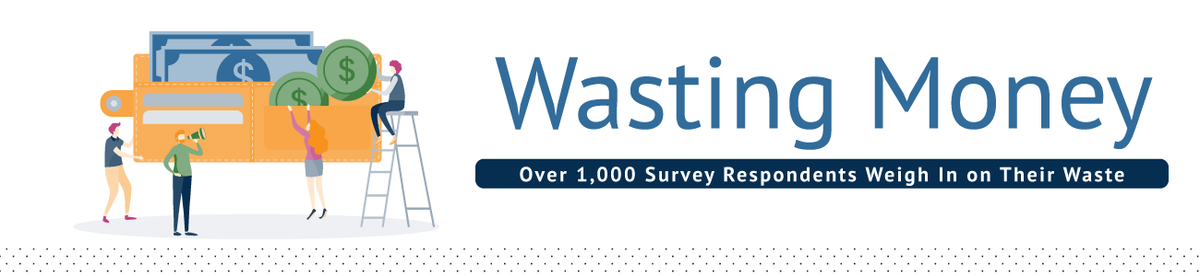 Wasting Money: Over 1,000 Survey Respondents Weigh In on Their Waste.