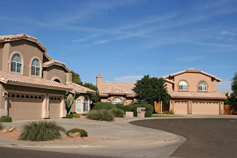 Houses in Arizona.