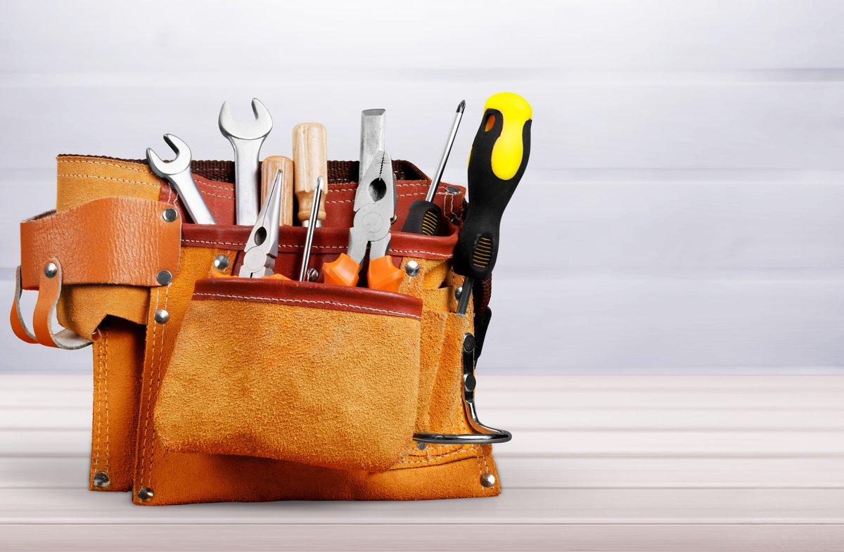 tool bag full of tools
