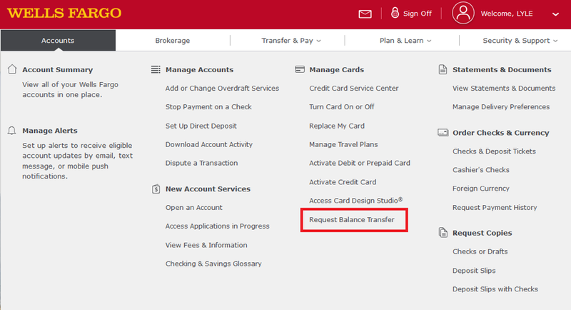 8 Things That You Never Expect On Wells Fargo Balance Transfer | Wells Fargo Balance Transfer