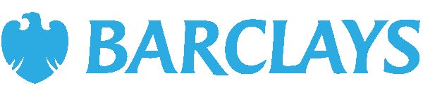 Logo for Barclays.