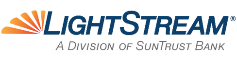 Logo for LightStream.