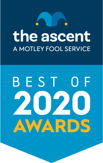 The Ascent's Best-Of 2020 Awards award banner