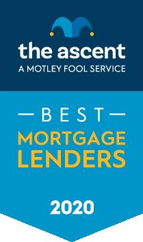 The Ascent's 2020 Mortgage Lender Awards Winners award banner