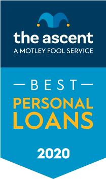 The Ascent's 2020 Personal Loan Awards Winners award banner