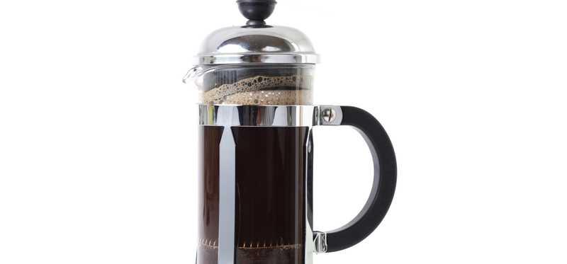 A coffee press.