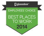 Glassdoor Best Place to Work 2014 winners badge
