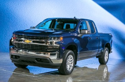 A new Chevy pickup truck.
