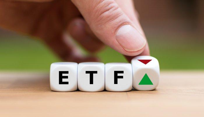 ETF written on dice