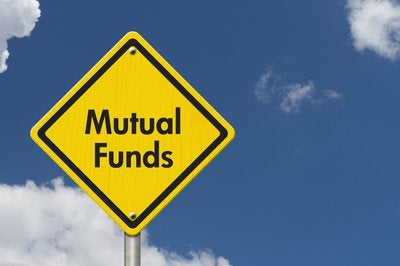 A road sign says Mutual Funds