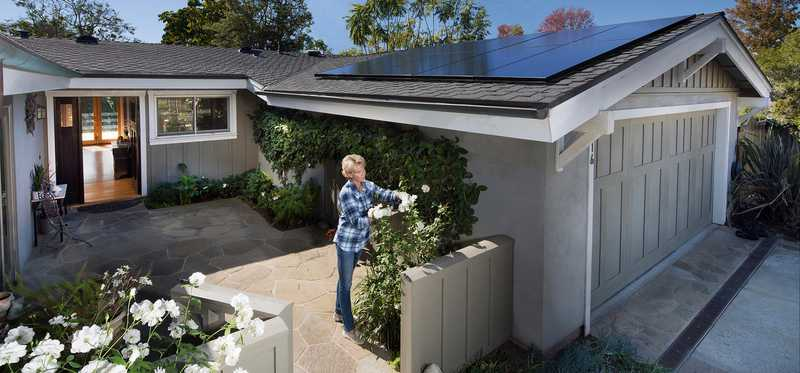 SunPower rooftop solar system at Foxen.