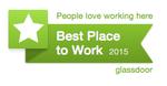 Glassdoor Best Place to Work 2015 badge
