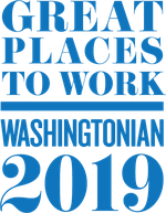 Washingtonian Great Places to Work 2019 badge