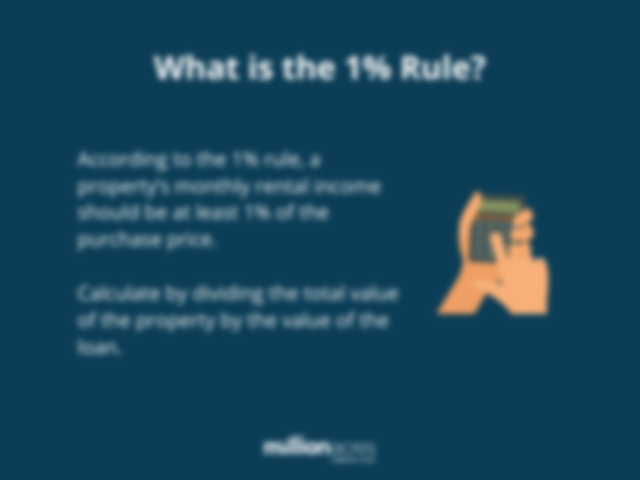what is the 1% rule