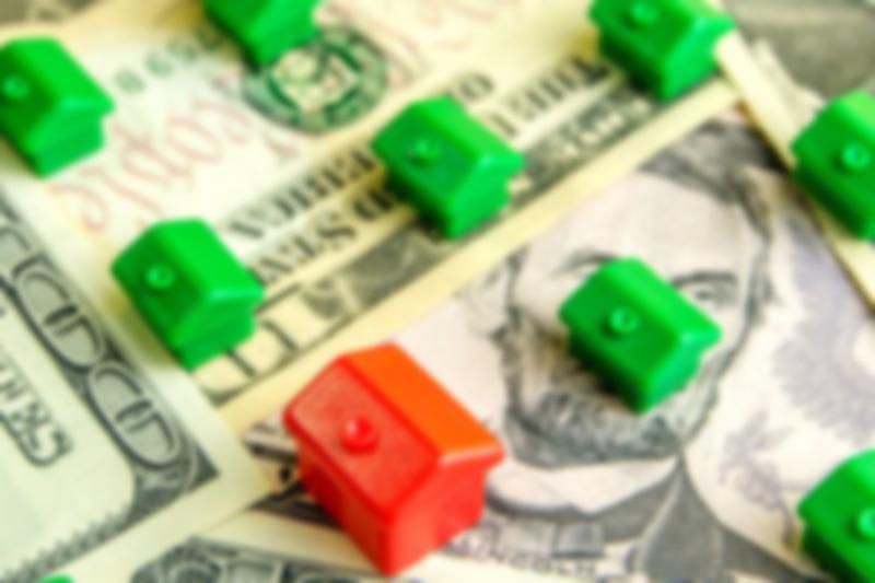 monopoly house on dollar bills