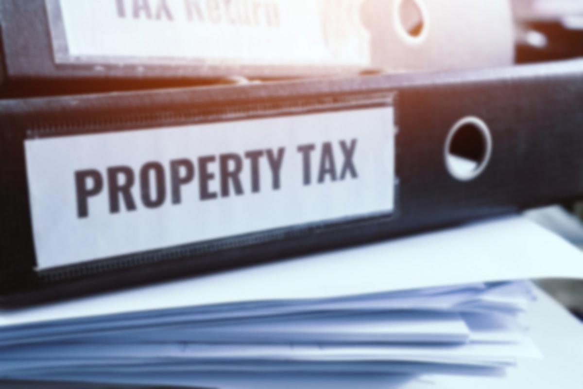 property tax binders