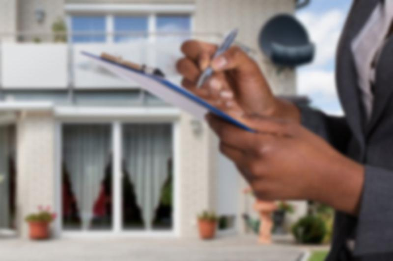 person appraising a home