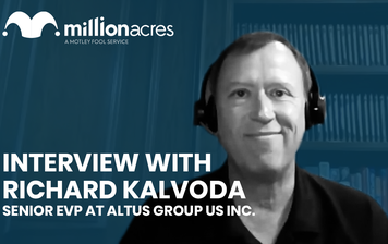 Interview| Richard Kalvoda Senior EVP at Altus Group US Inc.  YouTube Thumbnail