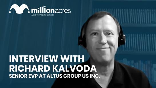 Interview  Richard Kalvoda Senior EVP at Altus Group US Inc.  YouTube Thumbnail