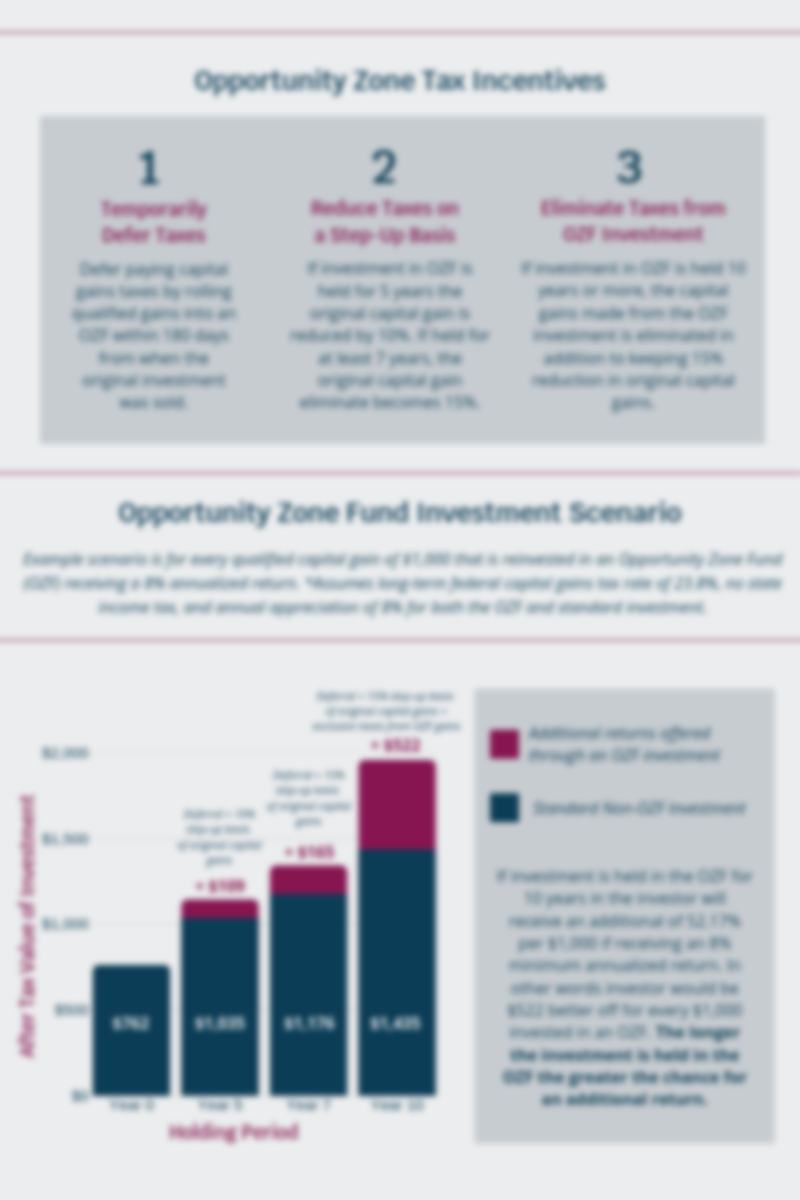 Opportunity Fund Investment Example