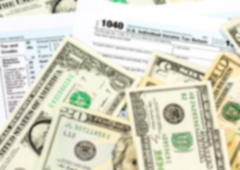 money and tax forms