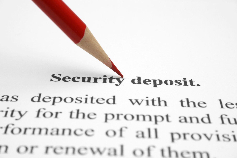 Security deposit