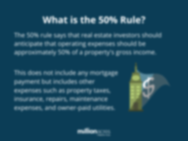 what is the 50% rule?