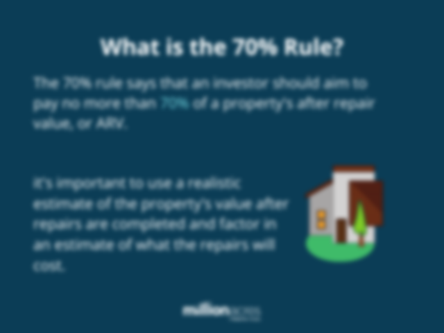 what is the 70% rule?