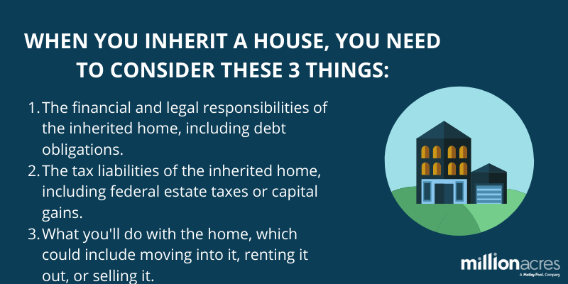 A Guide to What Happens When You Inherit a House