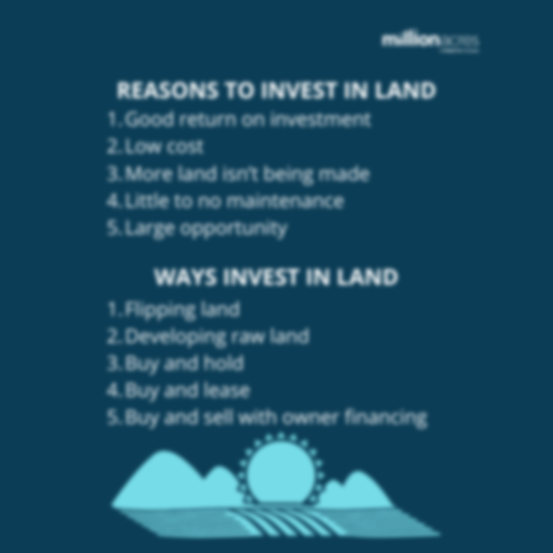 invest in land