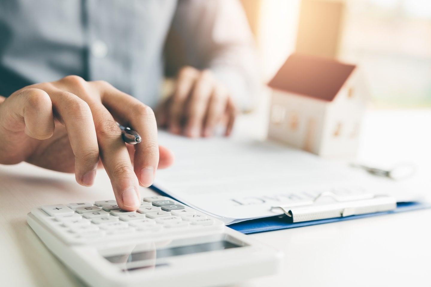 calculating real estate taxes